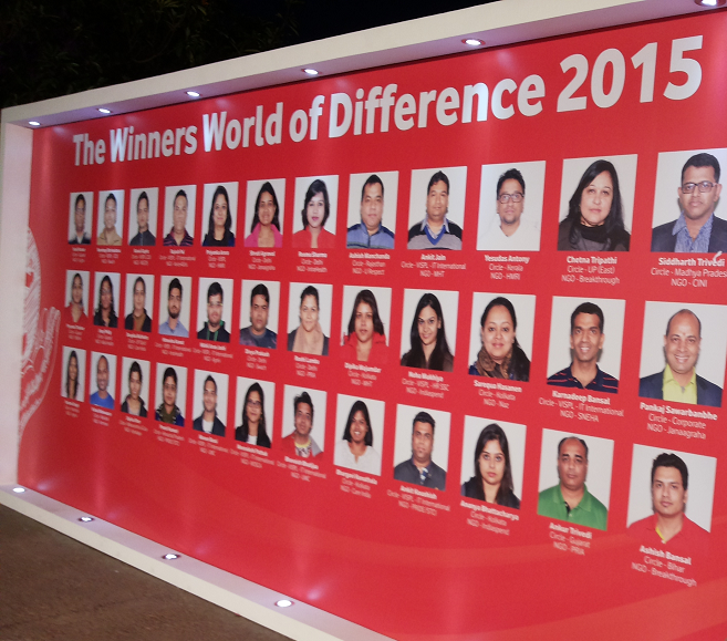 Vodafone world of difference photo